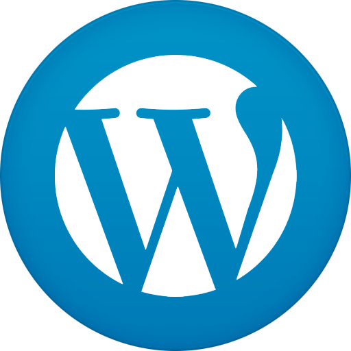 Secure Hosting WP - Wordpress Logo Blue